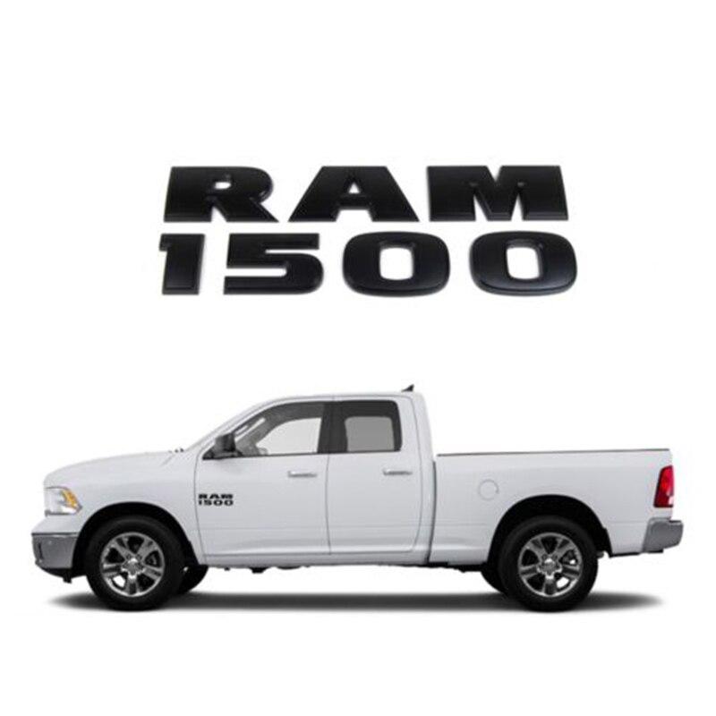 2 NEW CHROME DODGE RAM 2500 HEAVY DUTY EMBLEMS NAMEPLATES BADGES 2014-2016