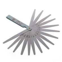 0,02 до 1 мм 17 толщина лезвия зазор метрический наполнитель щупа прибор измерение инструмент