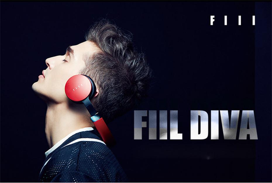 FIIL DIVA Headphones Bluetooth 4.1 HiFi Active Noise Cancelling Headset High Quality New Earphone for Music Lover Headphones 1