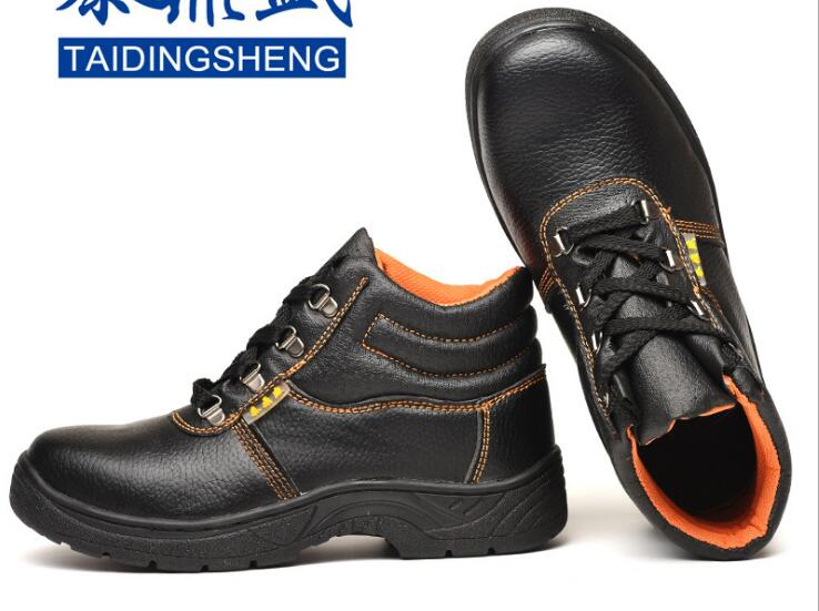 Разнообразие из искусственной и натуральной рабочая обувь, обувь, анти-брейк, прокол, защитная обувь, дышащий и переносной