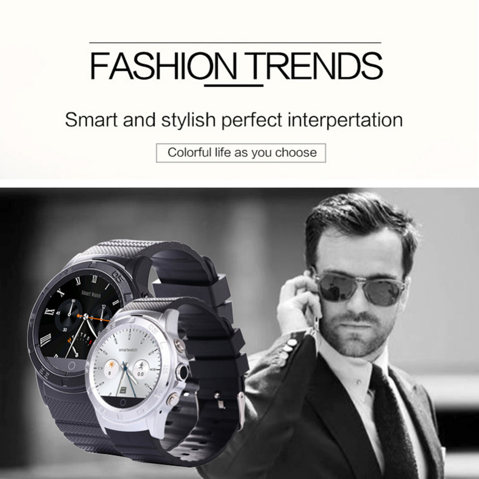 Fashion Bluetooth font b Smartwatch b font Intelligent With Remote Camera Video Recording PSG Heart Rate