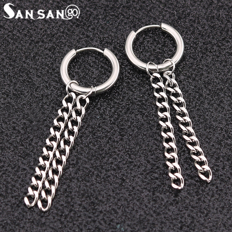 1pairs Stainless Steel KPOP BTS Bangtan Boys Album Suga Stud Earrings For Woman Men Punk Style Ear Accessories