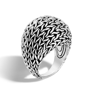 Huitan High Quality Finger Ring with Cute Dome Design Gift to Lovers Friends Fashion Cocktail Party Rings for Women Size 6-10