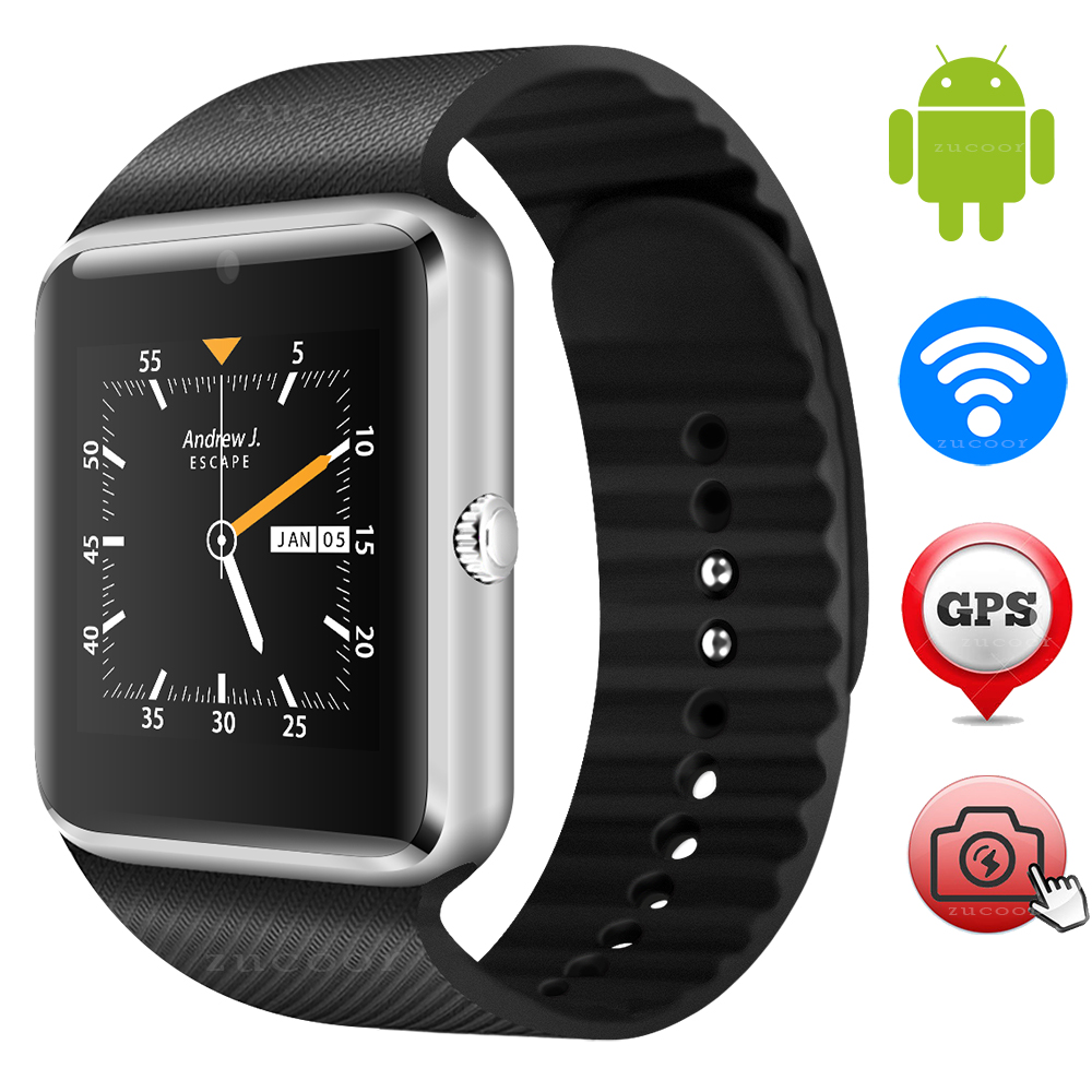 ФОТО Android Smart Watch Phone GT08 Plus Smartwatch Wristwatch Support SIM Card GPS WIFI Wristwatch Smartwatch 5MP Camera PK GT88 K89