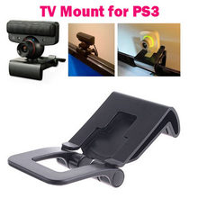 Verstelbare Tv Clip Bracket Mount Houder Stand Voor Sony Playstation 3 Voor PS3 Move Controller Eye Camera(China)