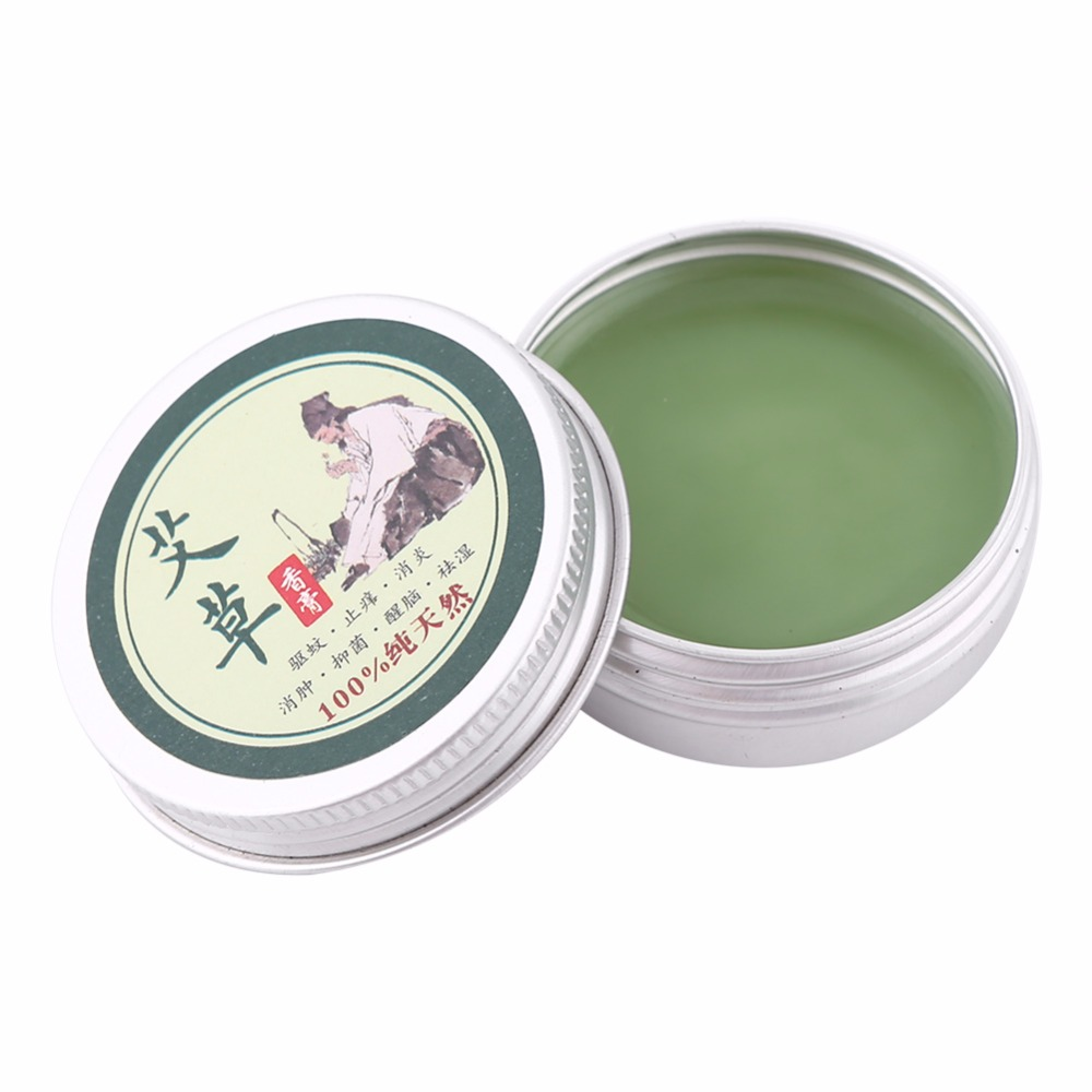 100% Pure Herbal Moxa Moxibustion Cream Mugwort Acupuncture Tsao Essence Health Skin Care Repair Products Essential Massage Oil