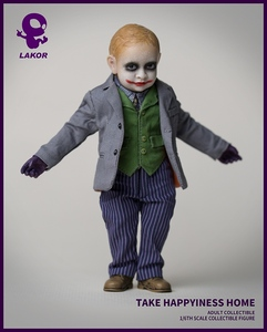 Image 4 - 1/6 Scale Take Happiness Home Collectible Full Set 15cm Lakor JOKER Baby 2.0 Boy Action Figure Doll Model for Fans Colelction Gi