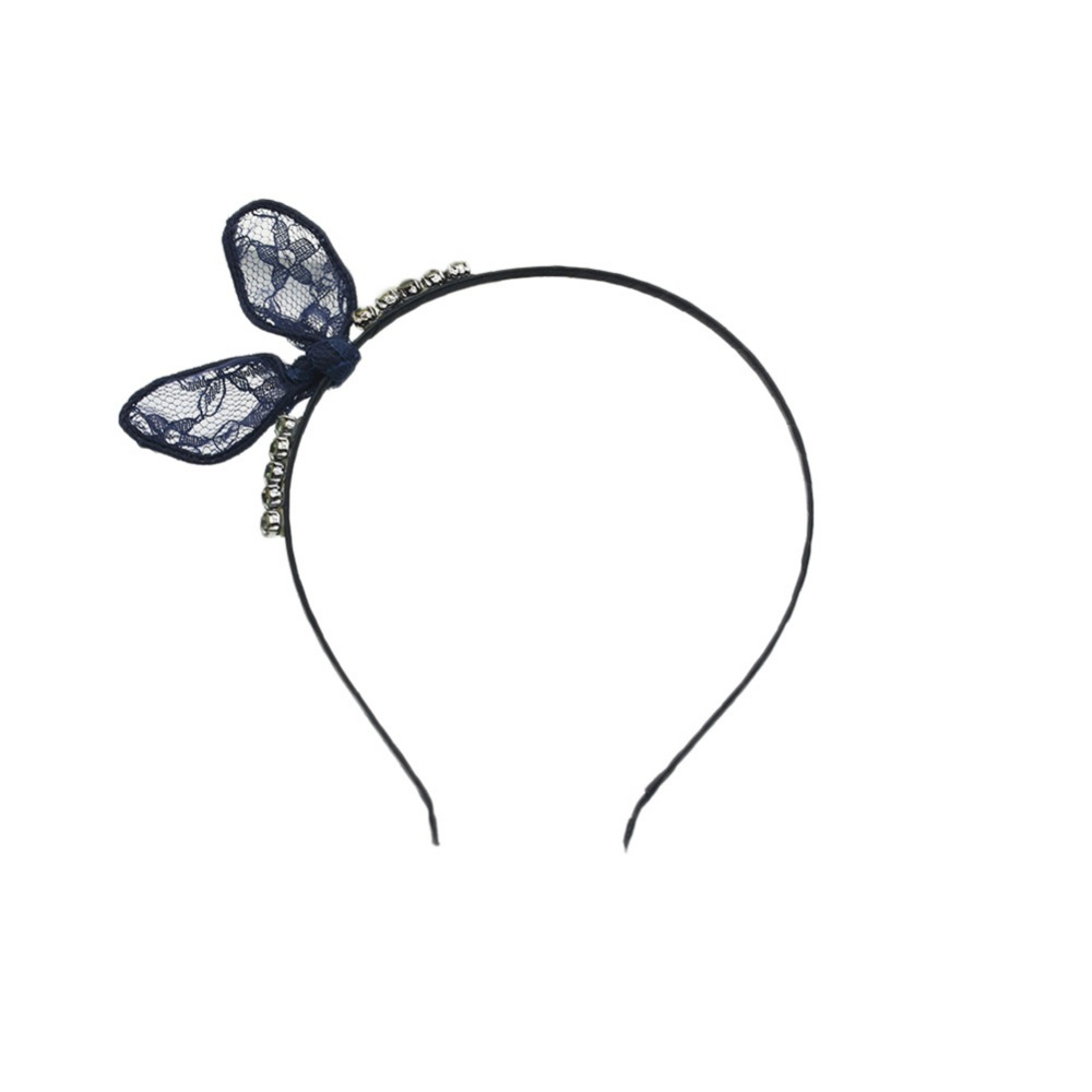 Bunny Lace Rabbit Ears Headbands For Women Hair Bows Hair Accessories