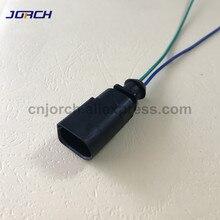 1 шт. 2pin жгут проводов 1J0973802 для VW EOS Golf Passat Audi 2 way Plug плоский контакт корпус разъем провода жгут кабл