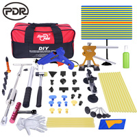 PDR Tools Ferramentas Paintless Dent Removal Car Dents Fix Puller Kit Remover Removing Dents Auto Repair Tool Set With Tool Bag
