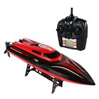 TKKJ H101 2.4G RC Boat 180 Degree Flip High Speed Racer Boat Electric RC Racing Boat for Pools, Lakes and Outdoor Adventure