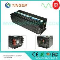 Главная dc инверторы 5000 Вт 5kw доставка по TNT DHL 50 Гц/60 Гц Чистая синусоида 12 В 24 В до 220 В 230 В