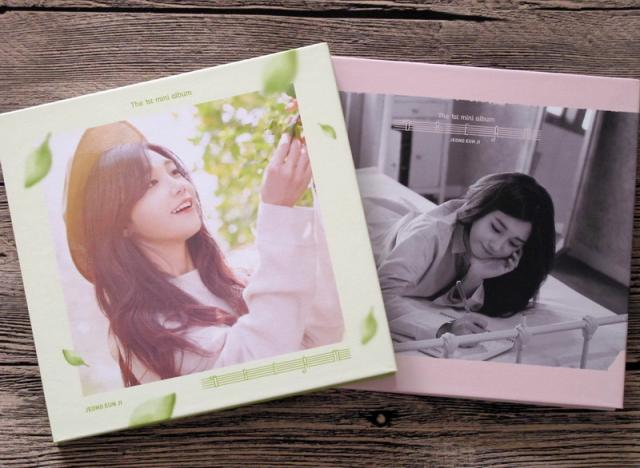 Signed APINK Jeong Eun Ji Autographed 2016 First SOLO Dream mini album CD green or gray signed apink jeong eun ji autographed original photo 6 inches 6 versions freeshipping 082017b