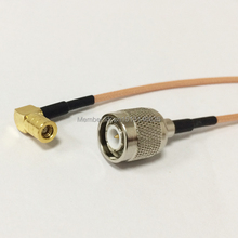 New TNC  Male Plug  Switch  SMB Female Jack Right Angle RG316 Cable Adapter 15CM 6″ for wireless antenna