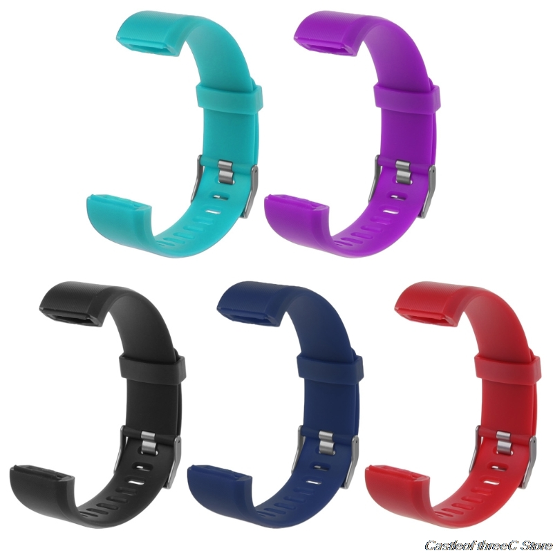 ID115 Plus Wrist Band Strap Replacement Silicone Watchband Smart Watch Bracelet Hotselling-in Smart Accessories from Consumer Electronics
