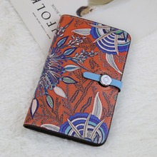Здесь можно купить  2017 Genuine Leather Business Card Holder Unisex Mini Wallets Coin Pocket Women Money Pouch female Small Exchange Bag Key Purse  Wallets & Holders
