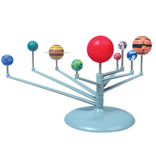 Solar System Nine Planets Planetarium Model Kit Astronomy Science Project DIY Kids Gift Worldwide Sale Early Education For Child 2017 diy the solar system nine planets planetarium model kit science astronomy project early education for children