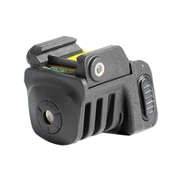 Drop shipping Laserspeed adjustable rechargeable red laser sight for subcompact pistol handgun red laser scope red laser pointer
