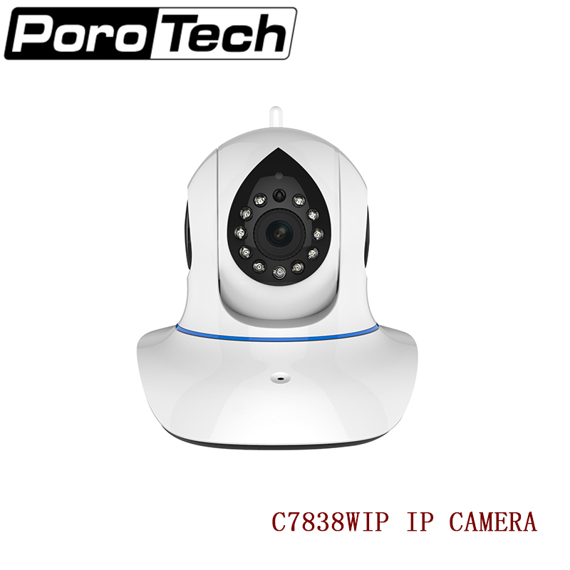 C7838WIP Wireless Security Network IP Camera WiFi Remote Surveillance 720P HD Indoor Pan Tilt Video Recording