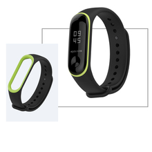 Mijobs Mi band 3 4 strap Silicone wrist Bracelet Strap Miband 3 4 Strap Wristband Smart Band mi band3 For Xiaomi Mi Band 3 4