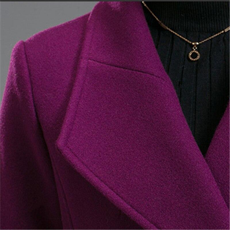 Plus Haute 2018 La Femmes De Manteau Style Coréenne Qualité Casual Long Surdimensionné Dames Élégant Taille dRvwxdU