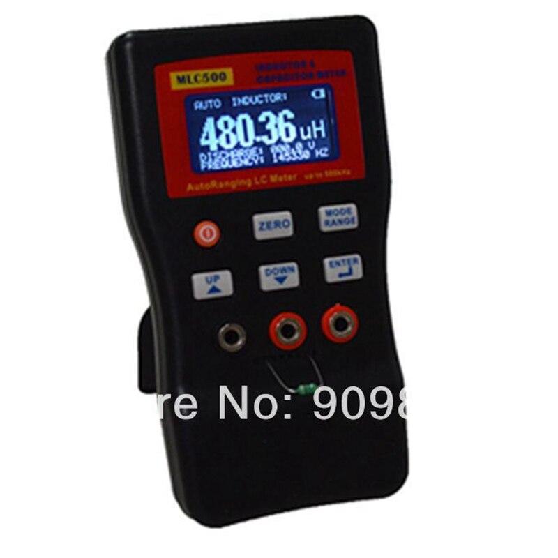 Medidor de inductancia de capacitancia electrónica de alta precisión Digital puente LC medidor multímetro LC RC oscilación a 100 H 100mF