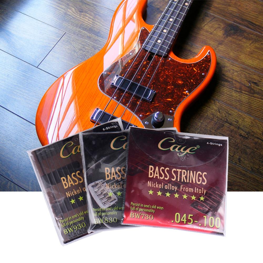 Caye Electric Guitar Bass Guitar 4 5 6 Strings Series Guitarra Part (Color Plastic Bag Seal) Comfortable Vigorous Sound Quality