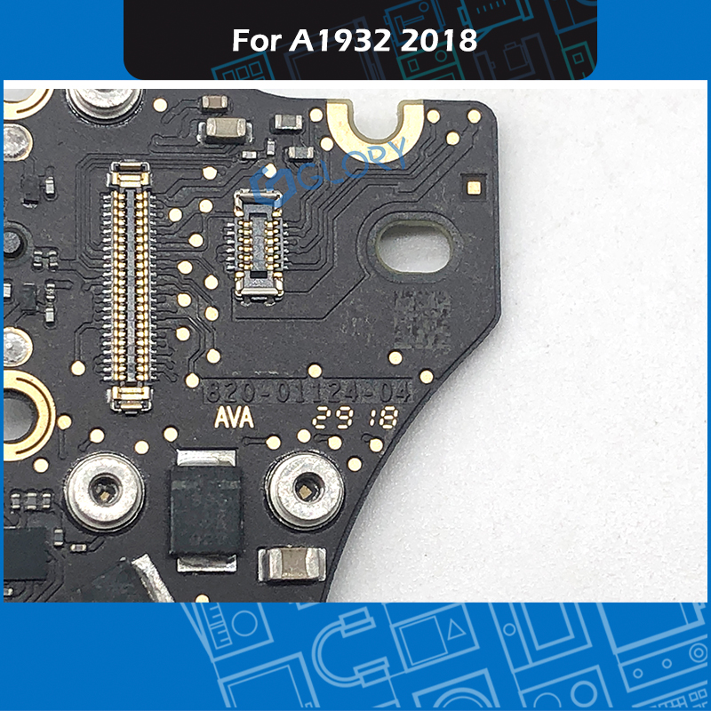 New For Macbook Air Retina A1932 Headphone Jack Board Audio  820-01124-04 Black