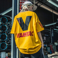Streetwear T shirt O Neck Cotton Mens Tops Harajuku Japanese Print Off White Hip Hop 2018 Europe Fashion Plus Size 4XL