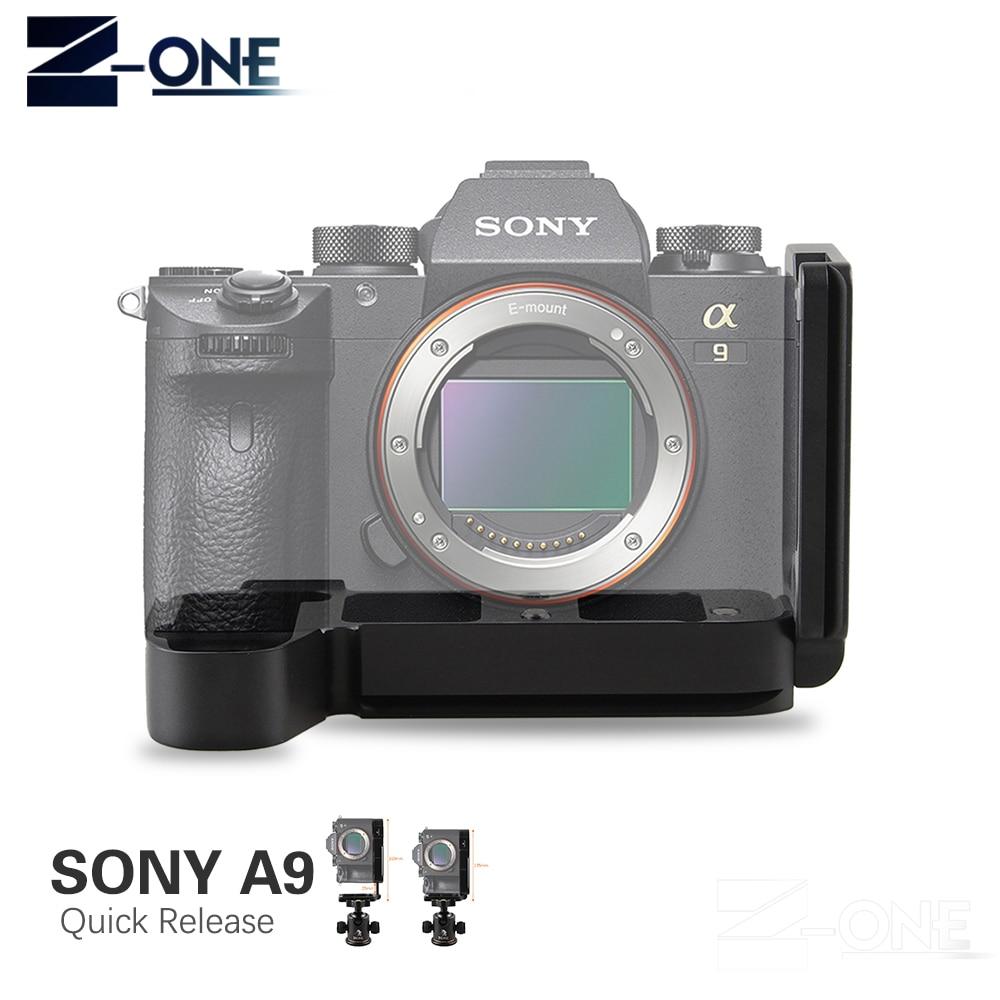 Quick Release L Plaque Support Titulaire main Grip pour Sony a9 A7MIII A7RIII A7R3 A7M3 DSLR Caméra