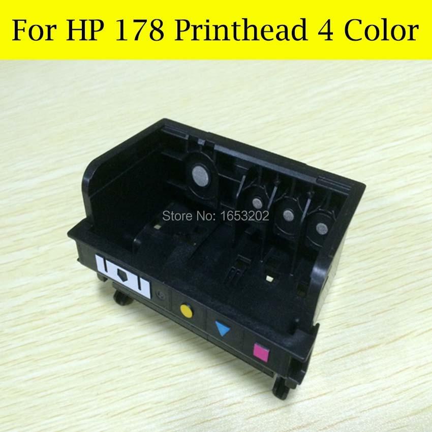 4 Slot 178XL Printer Head Nozzle For HP Photosmart B110a B110c B110e B209a B210a B210c B210b B8553 B109Q B109N Printead 3 printer cartridges xl for compatible hp 56