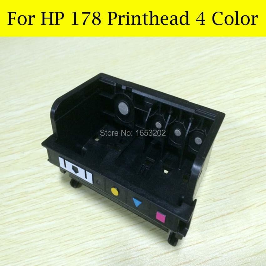Sale 178 Printer Head 4 Color For HP Printer 6521 6510 6520 7510 B8553 B109Q B109N For HP178 Printhead