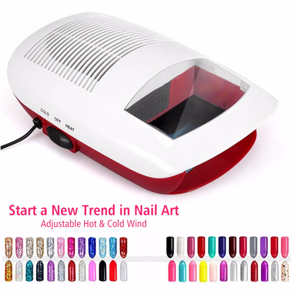 110W Hot And Cold Air Nail Dryer Fan Blower Auto Sensor Salon ...