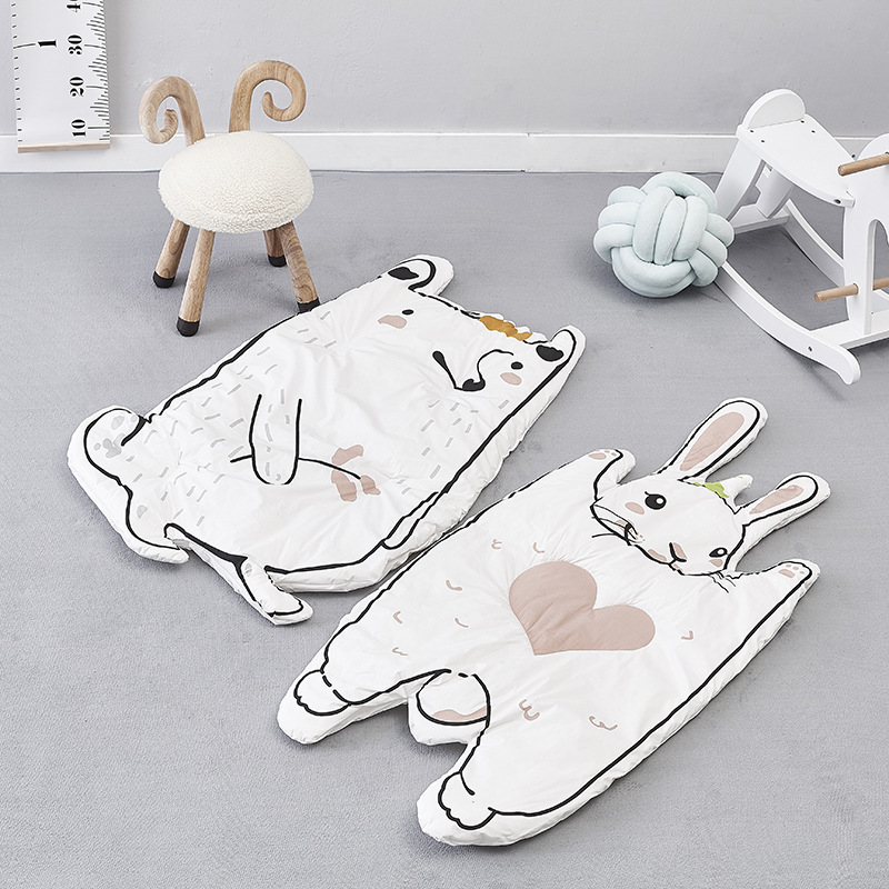 Baby Blanket Rabbit Raccoon Game Mat Kids Crawling Rug Carpet baby Bedding Stroller Blanket Childrens Room Decoration Carpet