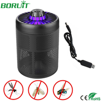 Electric Photocatalyst Mosquito Killer LED Lamp DC 5V USB Portable Mosquito Repeller for Indoor Outdoor Fly Insect Mosquito Trap