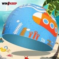 여름 수영 모자 어린이