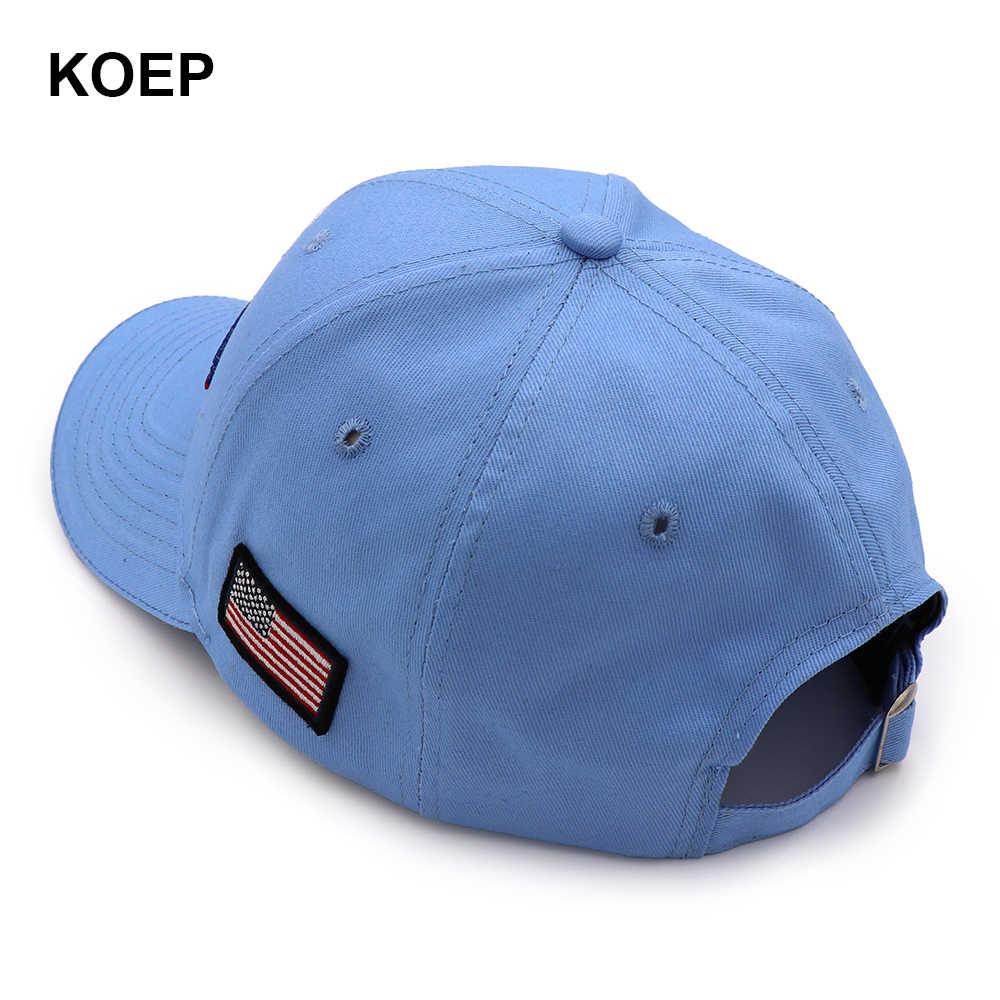 "KOEP ברני סנדרס 2020 כובע ארה""ב דגל בייסבול שמרו אמריקה נהדר Snapback כובע 3D רקמת כוכב מכתב בדיעבד כובעים"