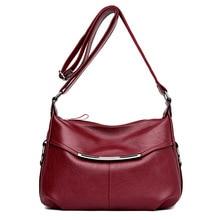 Новые модные Лоскутные женские сумки из натуральной кожи, сумки через плечо для женщин, роскошные кожаные сумки