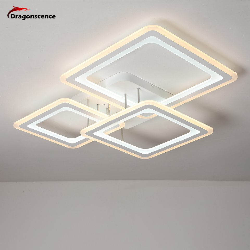 Dragonscence Ceiling chandelier lighting fixture Modern led chandelier lamp abajour for dining living room bedroom kitchen salon
