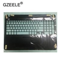 GZEELE New for SONY VAIO SVF152A29L SVF152C29L SVF152A29M SVF152A29V US Keyboard bezel Upper cover case palmrest 15.6 touchpad