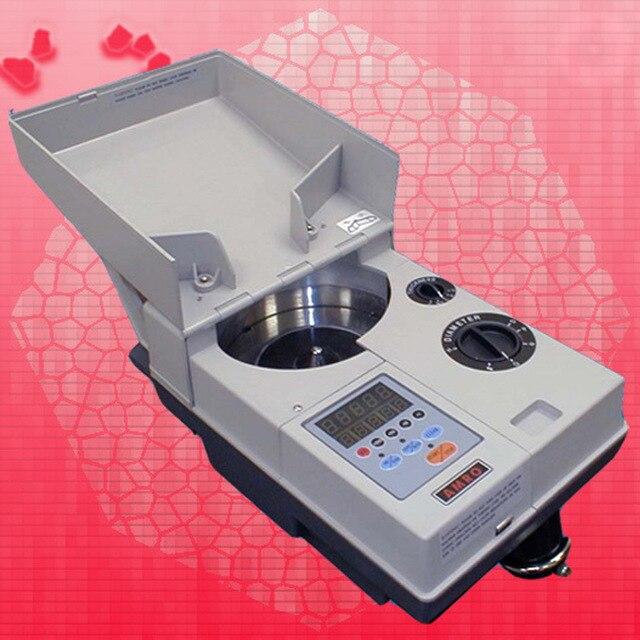 Compteur de pièces de monnaie incroyable professionnel trieur de pièces de monnaie électronique machine à compter pour partout dans le monde 110 V/220 V 40 W