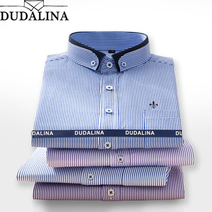 DUDALINA-2019-font-b-Men-b-font-Shirt-Long-Sleeved-Male-Striped-Formal-Business-Shirts-Brand