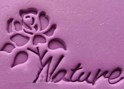 Natual rose resin seal soap stamp for handmade soap candle fimo crafts