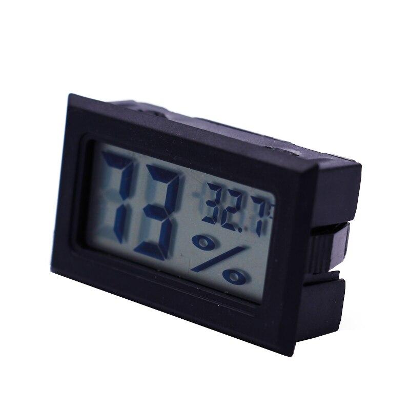 Mini głowica wykrywająca Cyfrowy higrometr LCD Temperatura Miernik - Przyrządy pomiarowe - Zdjęcie 2