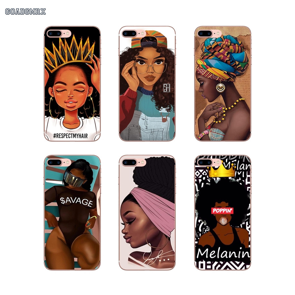 Baby & Toddler Clothing Painstaking Cartoon Afro Girl Melanin Poppin For Huawei Honor 6 Play 4c 5c 5 6 7x 8 9 Lite 5a 6a 6c Pro Y3 Y5 Y6 Ii Mate 7 8 9 Shell Case 2019 Latest Style Online Sale 50%