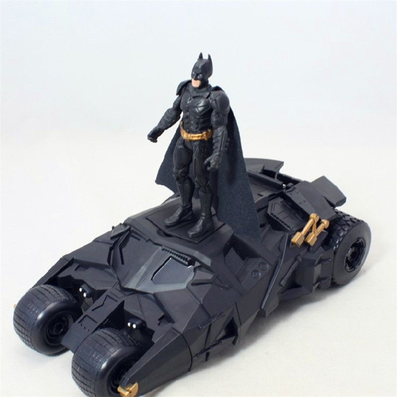 The Dark Knight Batman Batmobile Tumbler Black Car Vehecle Toy Action Figure Collection Model Toy For Christmas Gift N020 1 6 master edition batman dark knight double sided man havidante limit the quantity head carving 12 collection figure gifts