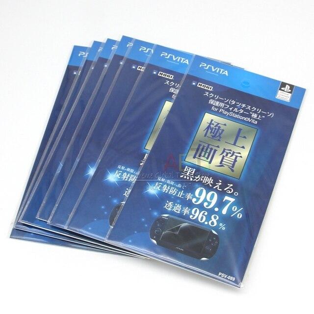 10PCS/Lot Full Body Screen Protector Front+Back Film For PS Playstation Vita PSVita PSV1000 Case