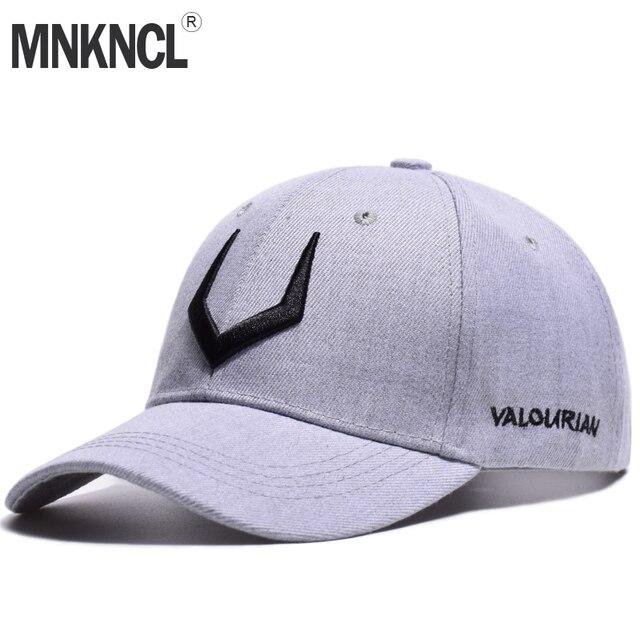 MNKNCL 2018 Nova Alta Qualidade Chapéu 100% Algodão Cap V 3D Bordado Boné de Beisebol do Snapback Homens e Mulheres Bonés