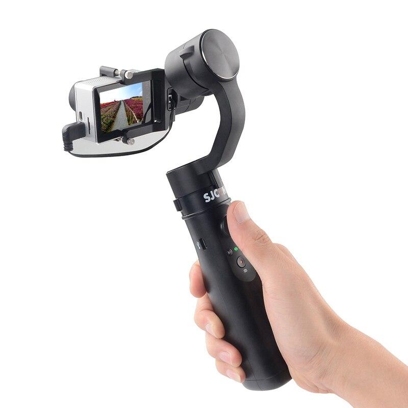 SJCAM Gimbal Action Camera Handheld Gimbal Brushless Stabilizer for SJCAM SJ6 SJ7 Sport DV Pitching Angle 320 Degree new arrive sjcam sj7 star sj6 legend accessies 3 axis handheld gimbal for sjcam sj6 sj7 star wifi series cam