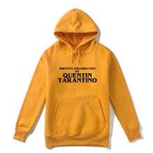 Gaaj quentin tarantino men hoodie 옐로우 여성 패션 남성 2019 새 브랜드 후드 겉옷 mens hoody